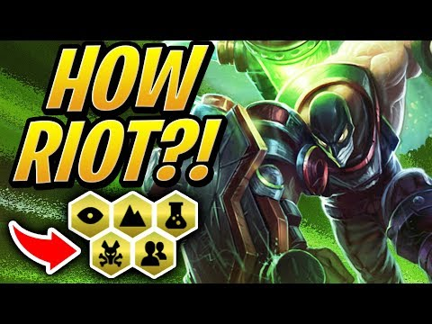 HOW DID RIOT ALLOW THIS?! | Teamfight Tactics Set 2 | TFT | League of Legends Auto Chess