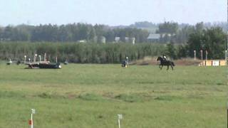 Laurie and Gracie at Beaumont Horse Trial 2011 - Preliminary Level