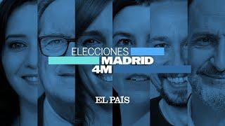 DIRECTO #4M | RESULTADOS y REACCIONES de las ELECCIONES en MADRID