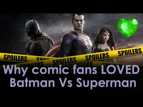Why comic fans LOVE Batman Vs Superman (Spoilers + Cameos + Easter Eggs)