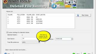 SysInfoTools Deleted File Recovery Software