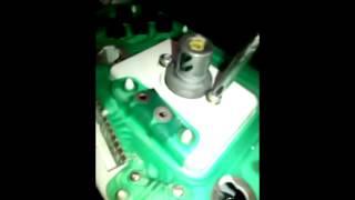 Daewoo Matiz - Замена ламп доски приборов
