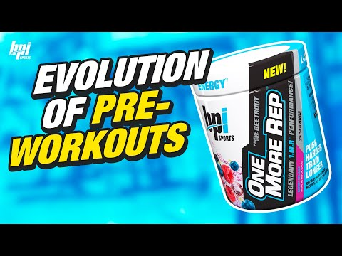 ONE MORE REP - Newest Evolution in Pre Workouts