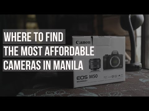 Where to find the most affordable cameras in Manila ?