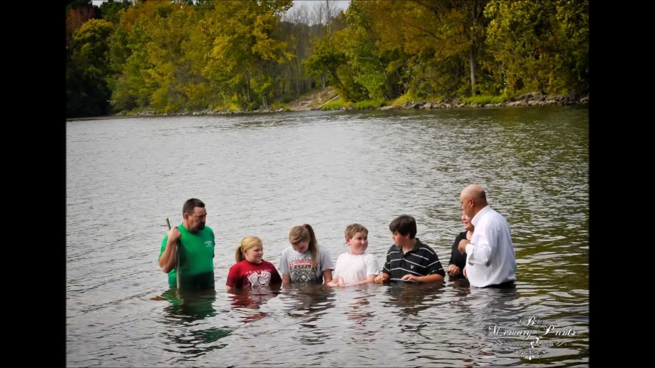 Baptism In The Tennessee River, Bethany Baptist Church ...