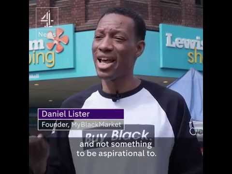 My Black Market Founder Daniel Lister on Channel 4 supporting Xsandys Hair & Beauty