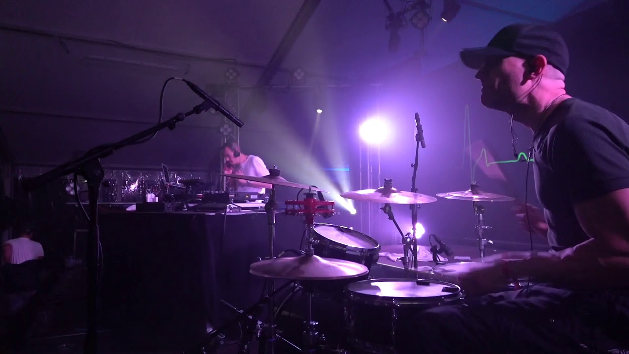 Live Drums + DJ in Italy at Trail Days Festival, Mr. Nice Guy + Benno Sattler