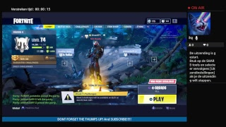 NEW Shopping card Fortnite chill stream ps4 shave871 dutch and english
