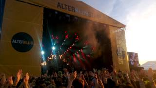 Crystal Fighters - Solar System (with intro Live at Open'er 2013)