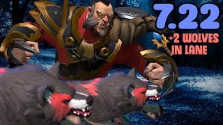 New Lycan Aghs In Action! 7.22 NON STOP LANE PUSH