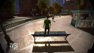 Skate 2 to heelfliped a bench?
