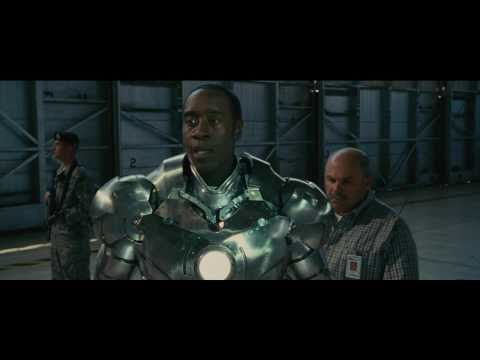 Iron Man 2: Deleted Scene (Rhodey in Mark 2) 1080p