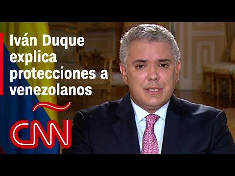 Iván Duque explica por qué regularizar a venezolanos con Estatuto Temporal de Protección en Colombia