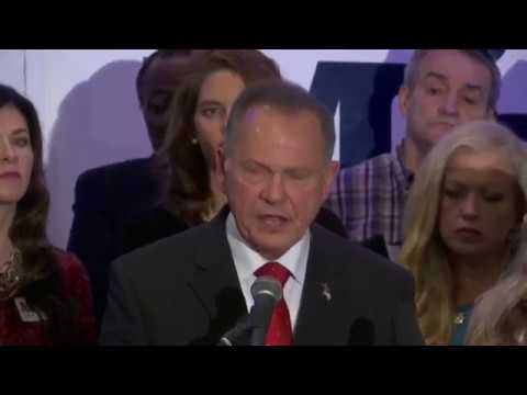 Roy Moore calls for Mitch McConnell to step down