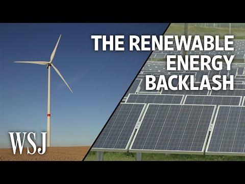 Why Environmentalists Are Fighting Renewable Energy Development | WSJ