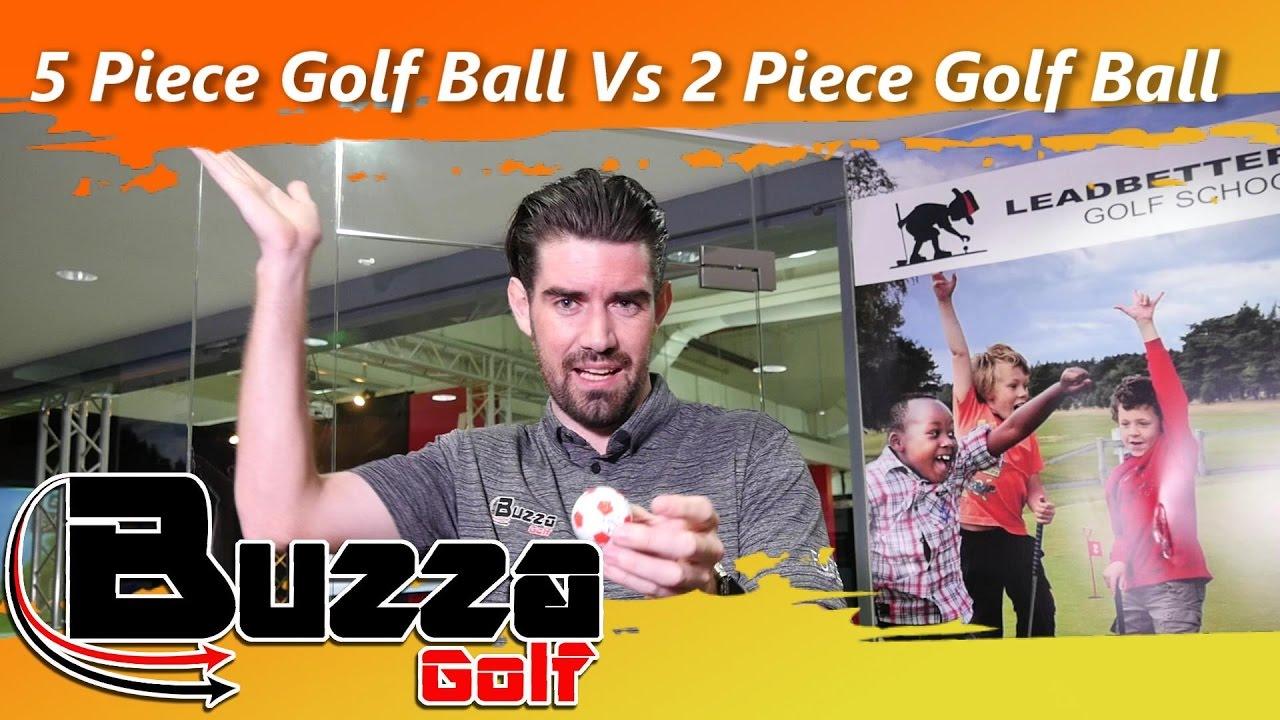 5 piece golf ball vs 2 piece golf ball youtube. Black Bedroom Furniture Sets. Home Design Ideas