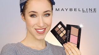 DRUGSTORE ONE BRAND MAYBELLINE MAKEUP TUTORIAL | ALLIE G BEAUTY thumbnail
