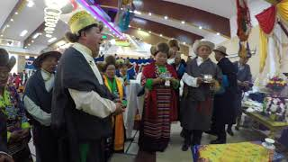 Nima Gyalzen Sherpa with Meena Ghale (Manangye) wedding celebration