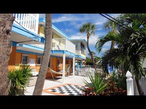 Plaza Beach Resorts Saint Pete Beach FL. views in HD