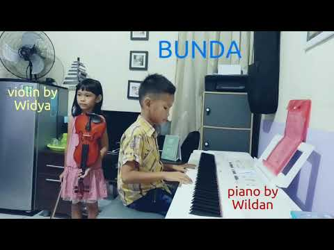 Bunda | piano by Wildan & violin by Widya