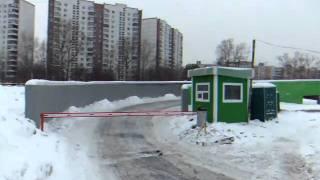 шлагбаум Леруа Химки(, 2011-02-18T18:03:37.000Z)