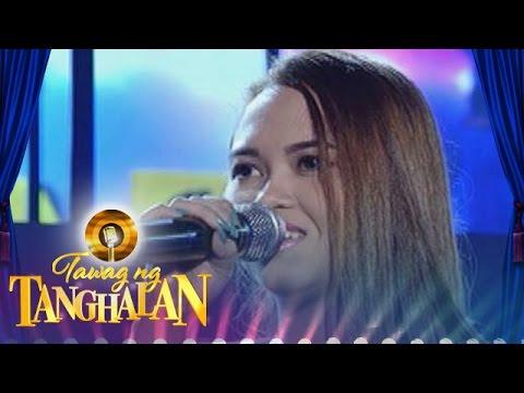 "Tawag ng Tanghalan: Esther Martinez - ""Pangarap na Bituin"""