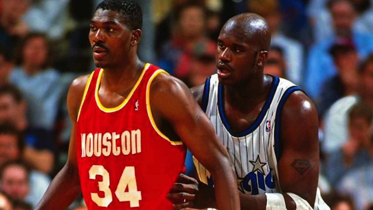 Shaquille O NEAL vs Hakeem OLAJUWON 1995 Finals Game 3