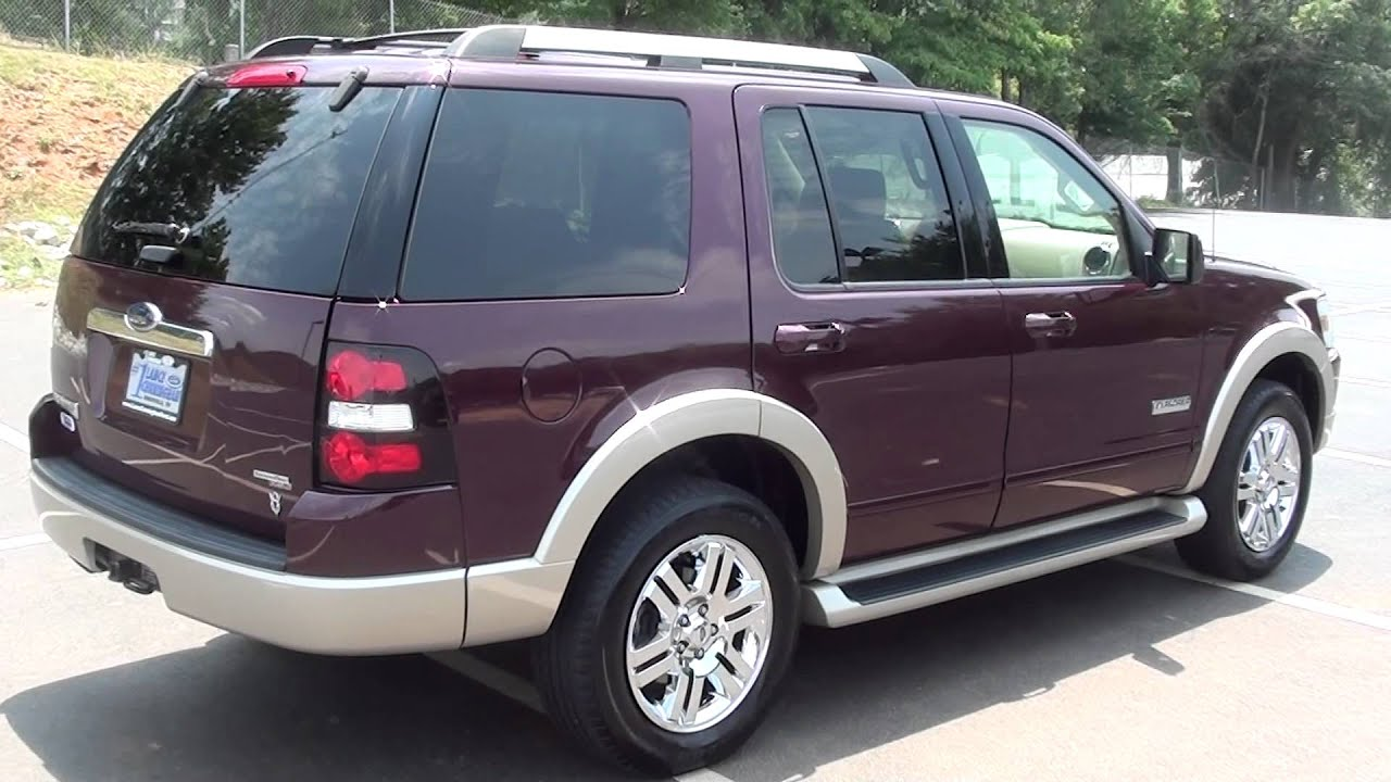 For sale 2006 ford explorer eddie bauer stk p5718