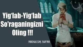 Yig'lab-Yig'lab so'raganingizni oling