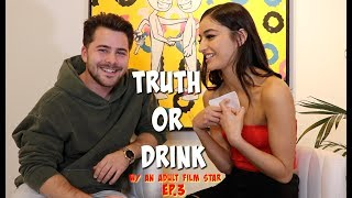 TRUTH or DRINK with a famous actress *WINK WINK* (Emily Willis) Ep. 3