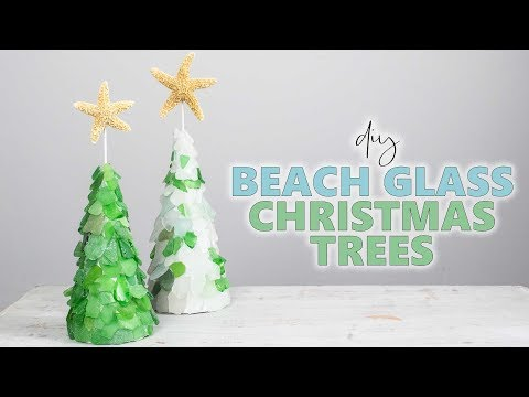 Use Up That Sea Glass For This Pretty DIY Christmas Decor Idea!