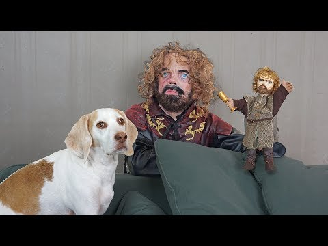 Dogs Pranked by Lil' Big Tyrion: Game of Thrones w/Funny Dogs Maymo, Penny, & Potpie