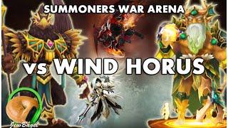 SUMMONERS WAR : Arena Vs Wind Horus (Imesety plus Zaiross/Theomars/Triton)
