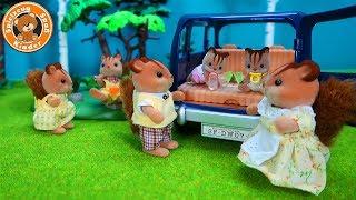 Sylvanian Families - Ausflug mit dem Auto - Spielzeug für Kinder Video Deutsch
