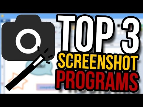 Top 3 Screenshot Programs for Windows!
