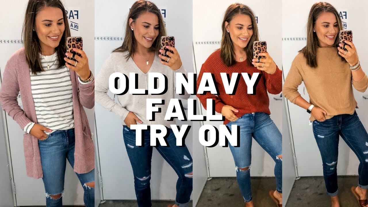 [VIDEO] - HUGE OLD NAVY FALL CLOTHING TRY ON 2019 7