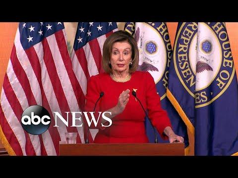 Pelosi not sending impeachment articles to Senate