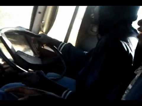 Cruising around Gwanda township