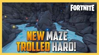 New! TROLL Maze from JeffVH - Fortnite Creative Code Inside! | Swiftor