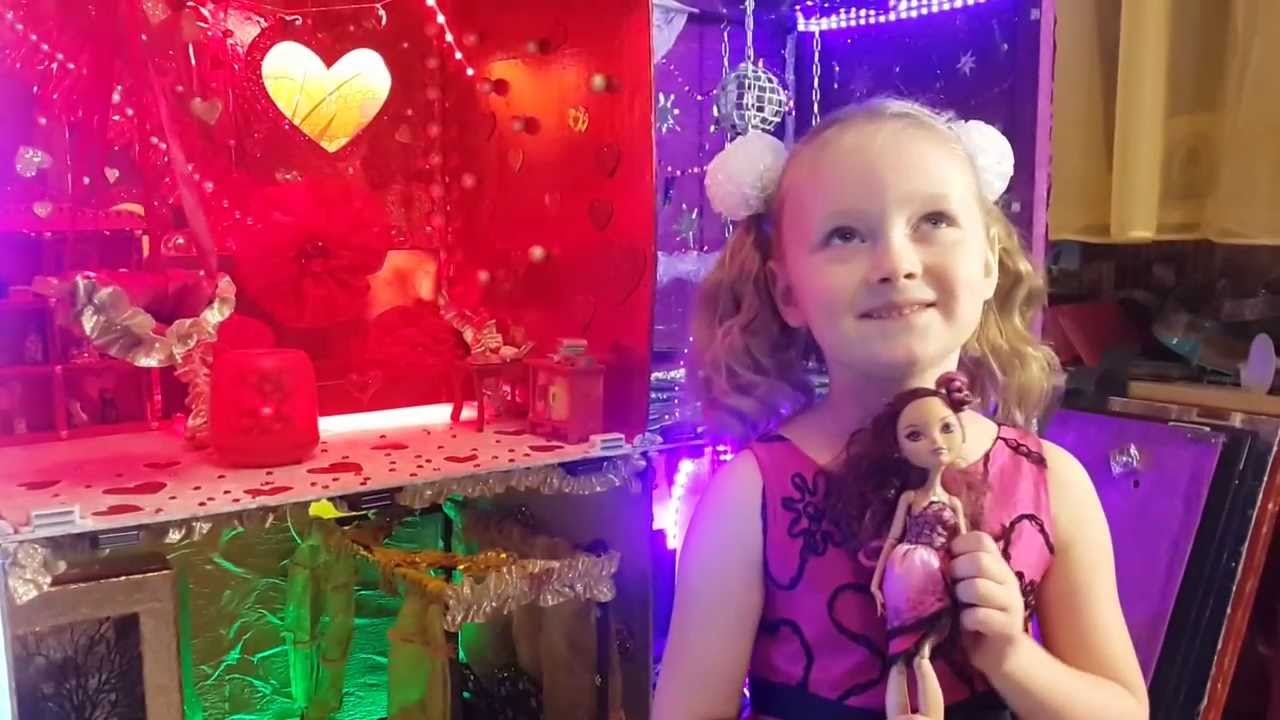Дом для куклы эвер афтер хай своими руками видео