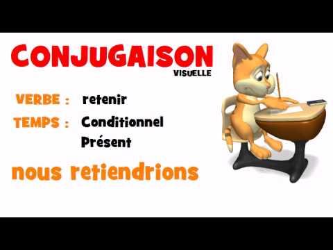 Conjugaison Retenir Conditionnel Present Youtube