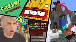 Los FAILS más DIVERTIDOS en Speedrun de Videojuegos (Nintendo - Minecraft - Mario - Más) | N Deluxe