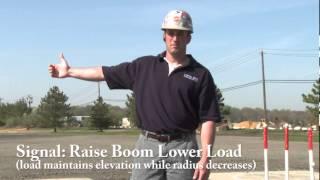 Hand Signals: Raise the Boom (Demonstration)