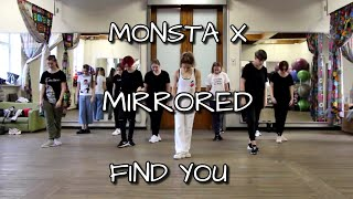MONSTA X - FIND YOU MIRRORED  Dance Tutorial Русский Туториал
