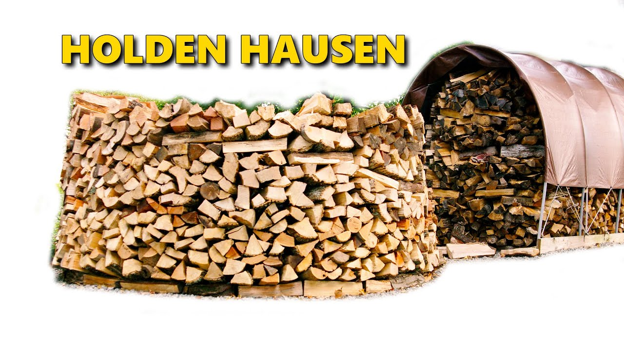 Build A Holz Hausen Woodpile 2 0 Building The Middle Youtube