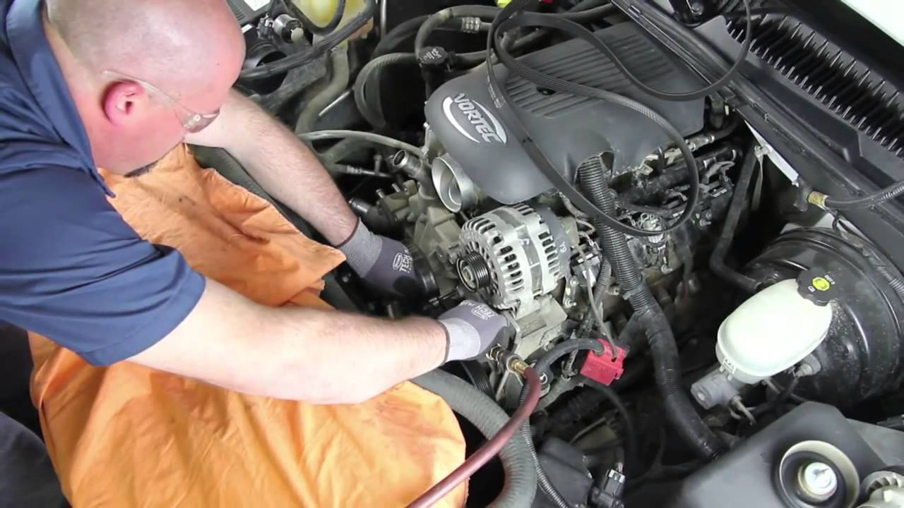 how to install a water pump 2000 2006 chevrolet tahoe 5 3l v8 wp 9409 aw5104 youtube. Black Bedroom Furniture Sets. Home Design Ideas