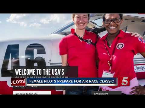 2 Nashville Pilots Take On 'The Air Race Classic,' An All-Female Air Race