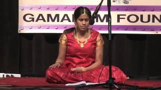 Kumkum singing geetham Raravenu