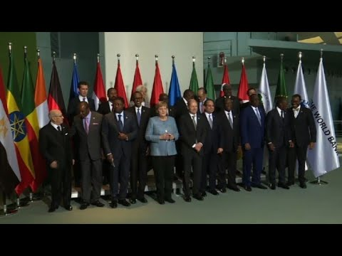 Africa summit: leaders pose for family photo in Berlin