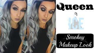Queen of Ice ⎮Smokey Makeup Tutorial